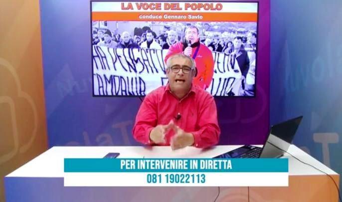 Risultati immagini per GENNARO SAVIO IN TV
