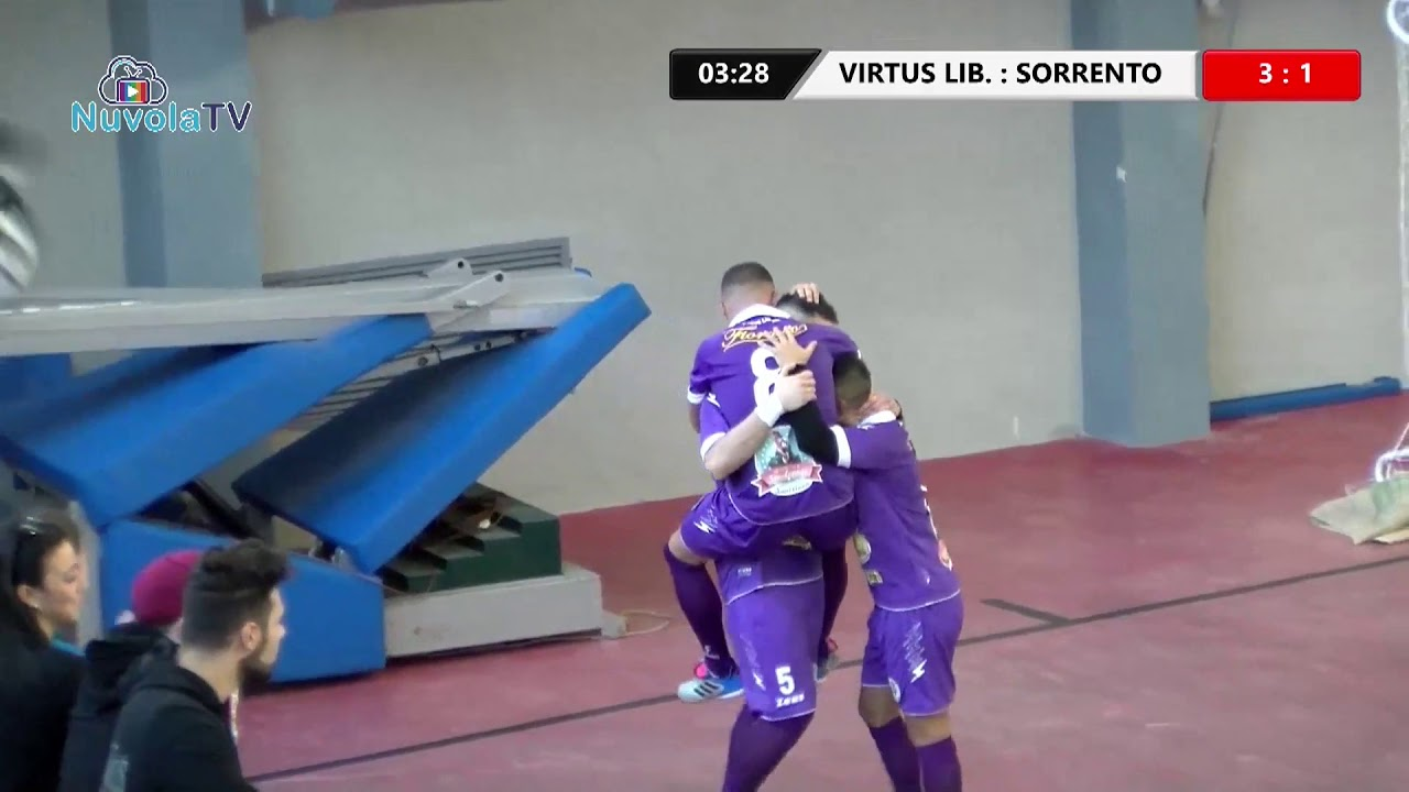 CALCIO A 5. VIRTUS LIBERA - SORRENTO (5-3). LA SINTESI - Nuvola Tv