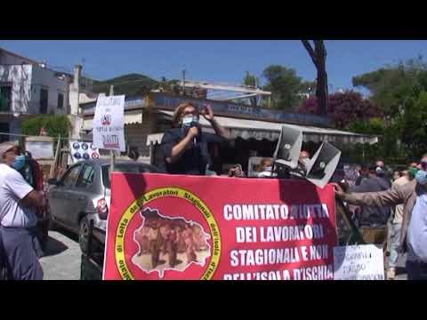 MERCOLEDI' ALLE ORE 9.00 IN PIAZZA ANTICA REGGIA A ISCHIA, NUOVA MANIFESTAZIONE DI PROTESTA PER DIFENDERE I DIRITTI DEI LAVORATORI STAGIONALI E NON