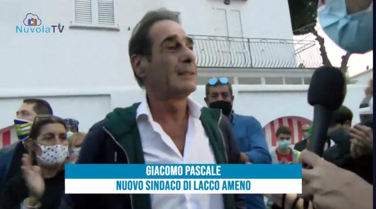 GIACOMO PASCALE SINDACO DI LACCO AMENO, LA DIRETTA DELLO SPOGLIO