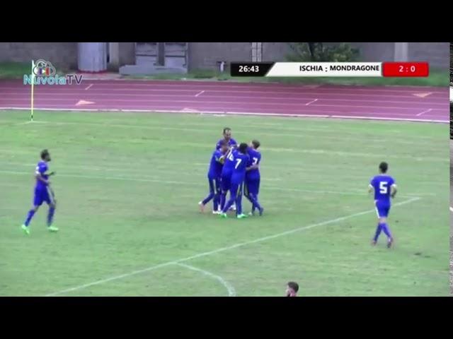 ISCHIA VS MONDRAGONE 3-0 GUARDA LA SINTESI